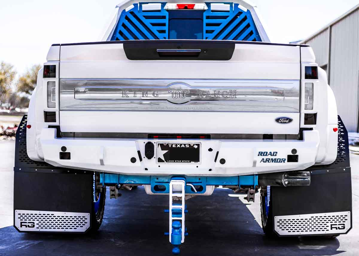 Lifted Outlaw King Ranch Custom Truck